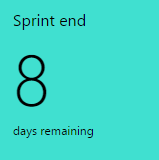 Sprint Countdown widget